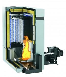 Котли на твердому паливі пелетах трісках Vitoligno 300-H 80-101 кВт