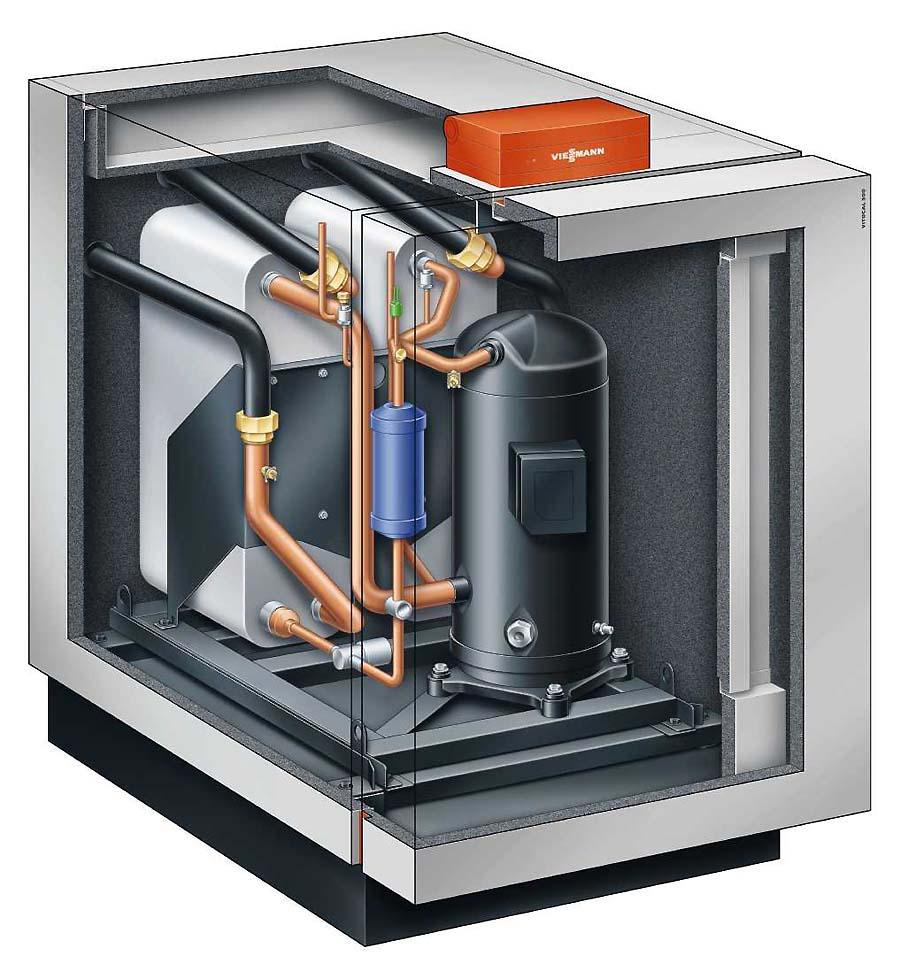 Тепловий насос Viessmann Vitocal 300-G ґрунт вода