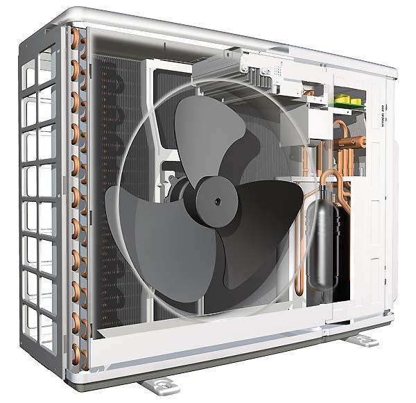 Тепловий насос Viessmann Vitocal 200-S повітря вода зовнішній блок