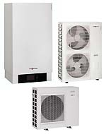 Теплові насоси Viessmann Vitocal 200-S повітро-водяні спліт-системи для опалення та охолодження