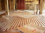 Тепла підлога системи підлогового опалення тёплый пол