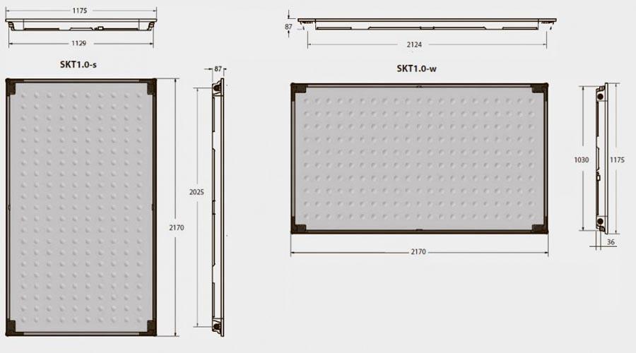 Пласкі сонячні колектори Buderus Logasol SKT 1.0 технічні характеристики