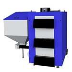 Твердопаливіні сталеві котли 15… 200 кВт з автоматичною подачею палива (пелети, вугілля)