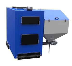 Котли Buderus Elektromet EKO KWP з бункером подача палива тверде паливо пелети вугілля монтаж сервіс ГРН київ прайс ціна вартість