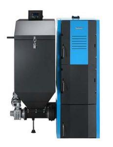 Котли твердопаливні Buderus Logano G221A автомат на дровах вугіллі на пелетах з бункером з автоматична подача монтаж сервіс